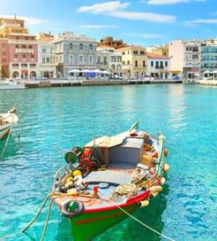 Carte Crete Cyclades.Ferries Entre La Crete Et Les Cyclades