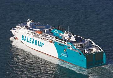 Balearia - Réservation, horaires et billets de Ferry