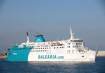 Commentaire du ferry daniya de balearia et description du for Oficina balearia ibiza