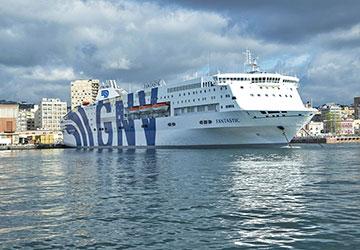 bateau tunisie italie