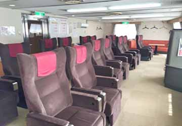 nankai_ferry_tsurugi_brown_recliner