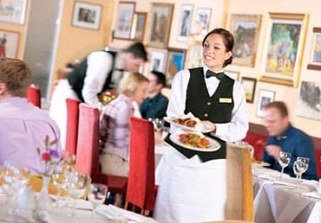 po_ferries_pride_of_york_langans_brasserie_service