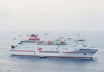 bateau maroc malaga